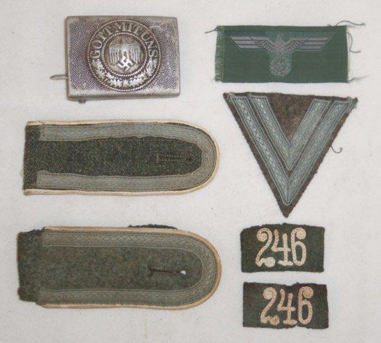 7 pcs. Nazi Army Infantry Insignia