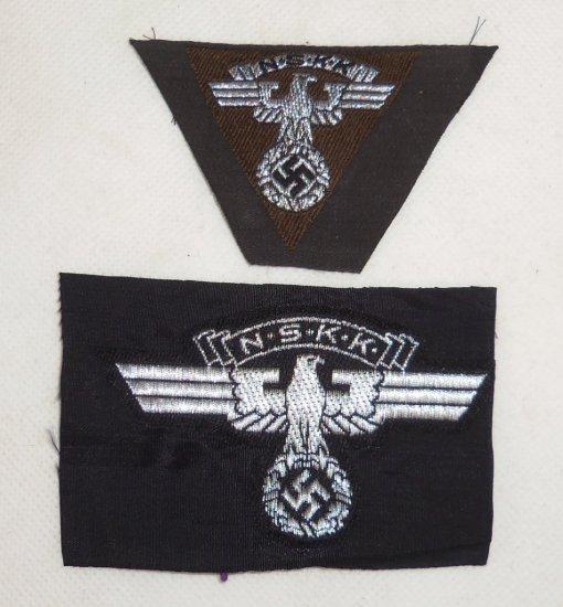 2 pcs. NSKK Cloth Insignia
