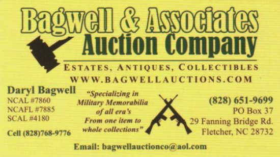 OUR NEXT AUCTION WILL BE SATURDAY FEBRUARY 11, 2017 @2PM