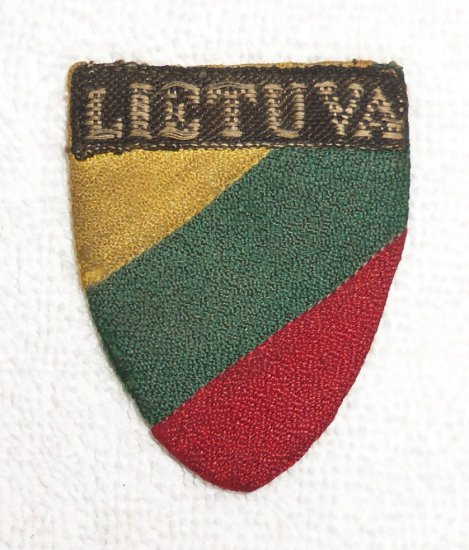 Scarce Theater Made Lithuanian German Army Legion Shield