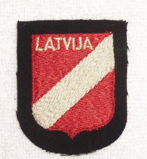 Latvian Volunteers SS Lettische #1/#2 3rd Pattern Arm Shield