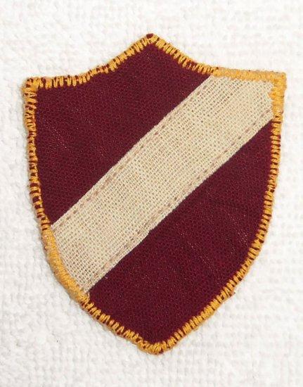 Latvian Volunteers SS Lettische First Pattern Variant Arm Shield