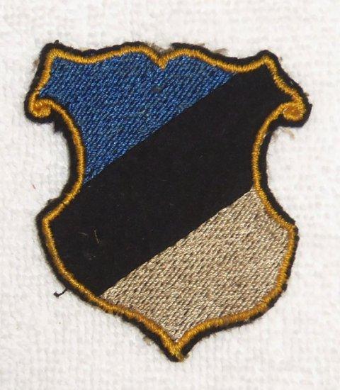 Estonia SS Panzer Abteilung 11 1st Pattern/2nd Pattern Transitional Arm Shield