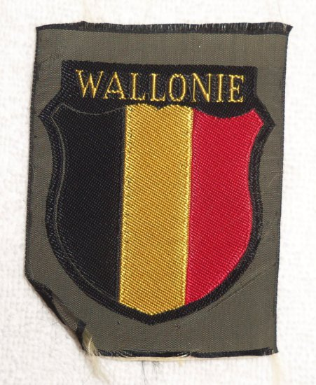Walloon Legion SS Panzer Division - Wiking Arm Shield