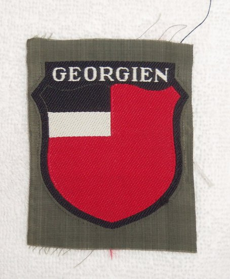 Georgia Volunteers in the Wehrmacht Arm Shield