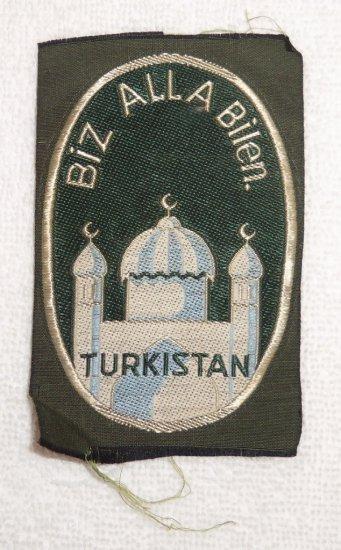 WWII Turkistan Foreign Volunteer Sleeve Patch