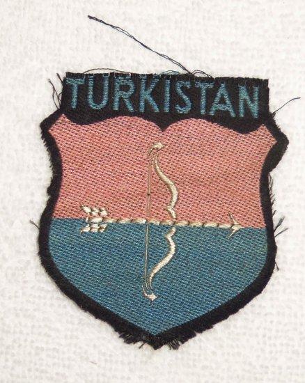 WWII Waffen SS Turkistan Patch