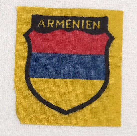 WWII Waffen SS Armenien Volunteer Sleeve Badge