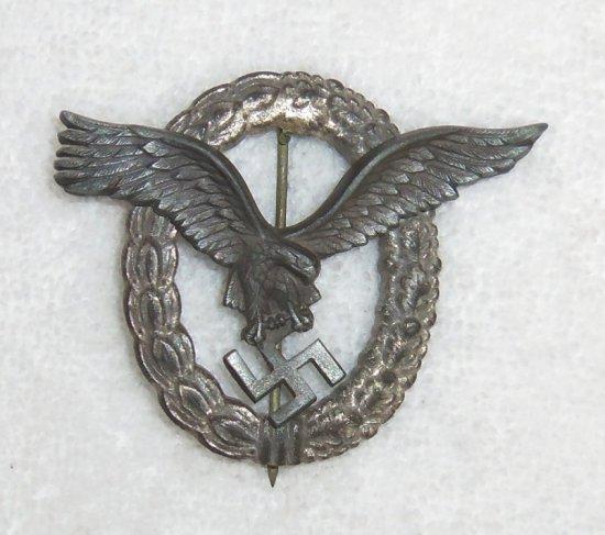 Luftwaffe Pilot Badge-Late War Example