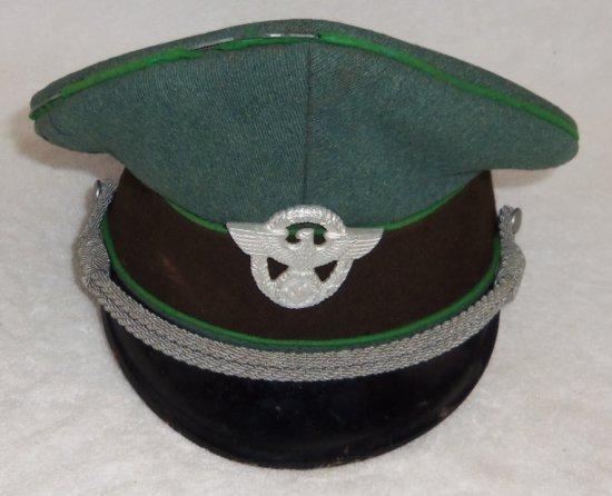 Nazi Police Officer's Visor Cap