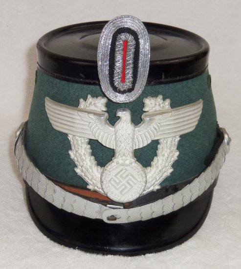Nazi Police Officer's Shako-Deluxe Style