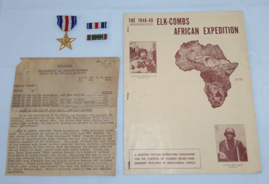 Lt. Rex Combs 508th PIR/82nd Airborne Silver Star With Oak Leaf Citation- Movie Brochure