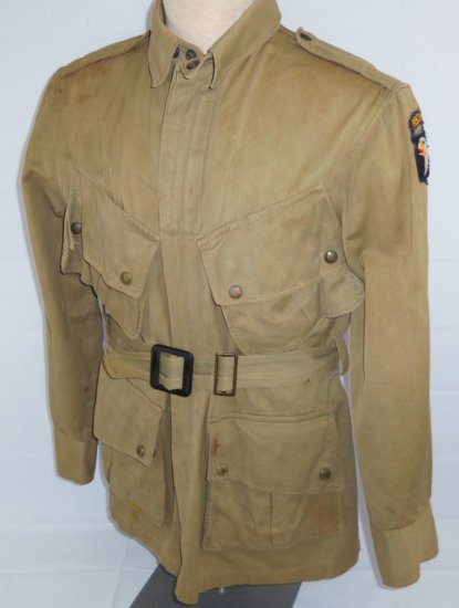 101st Airborne Jump Jacket-Field Worn With Serial Number Stampings.