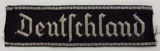 """Waffen SS """"Deutschland"""" Officer's Cuff Title"""