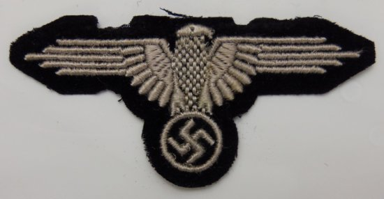Early Waffen SS Enlisted Arm Eagle