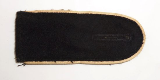 Scarce Waffen SS Lower Ranks Slip On Shoulder Board