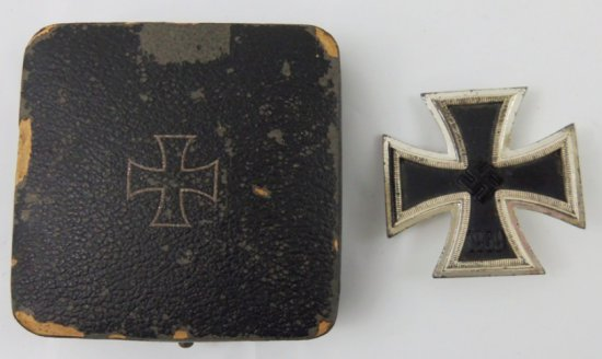 Cased WW2 Iron Cross 1st Class-B.H. Mayer