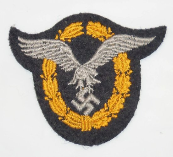 Scarce WWII Embroidered Luftwaffe Pilot/Observer Badge