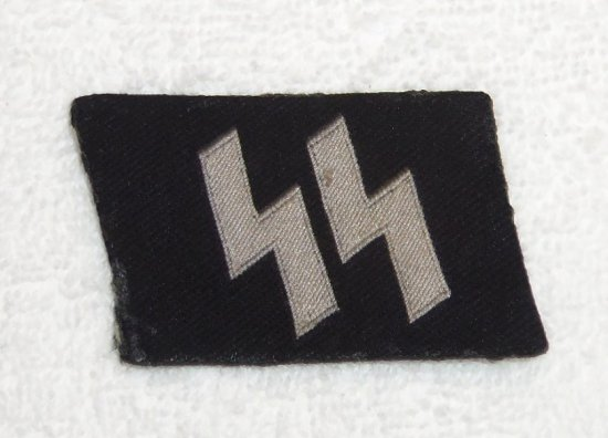 Bevo Embroidered Runic Tab For Enlisted