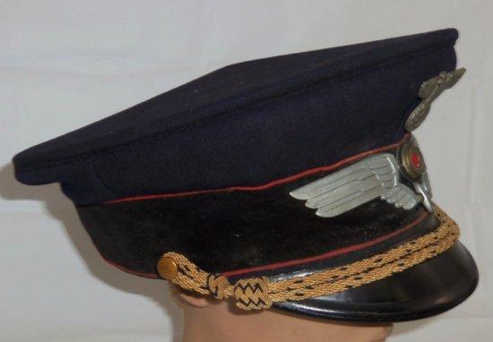 WW2 Reichsbahn Higher Official's Visor Cap