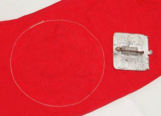 2pcs-SA Sports Armband W/RZM Tag-1939 Kriestag Rally Badge