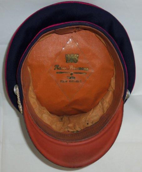WW2 German Fire Police Officer's Visor Cap