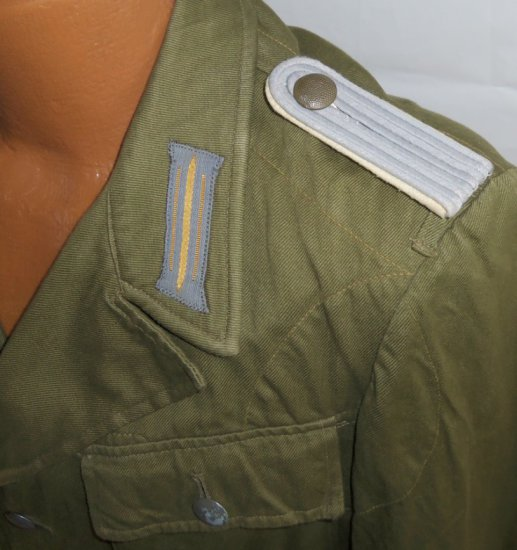 3rd Pattern Heer Tropical Officer's Tunic W/AK Cuff Title