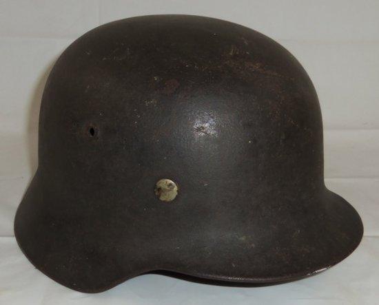Single Decal M35 Kreigsmarine Helmet-M40 Field Finish/Liner