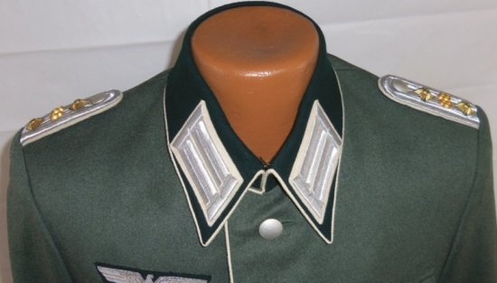 Wehrmacht Infantry Officer's M36/M40 Field Dress Tunic