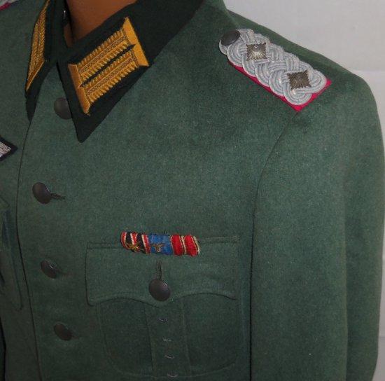 Scarce Oberst der GeneralStab Tunic W/Pants-Reichs Chancellery Insignia