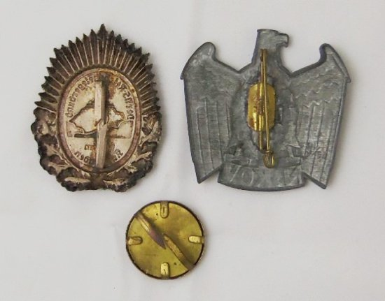 3 pcs. WW2 German Veteran Badges