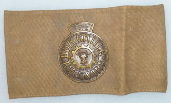 Rare WWII Period Romanian Hunting Official/Warden Armband