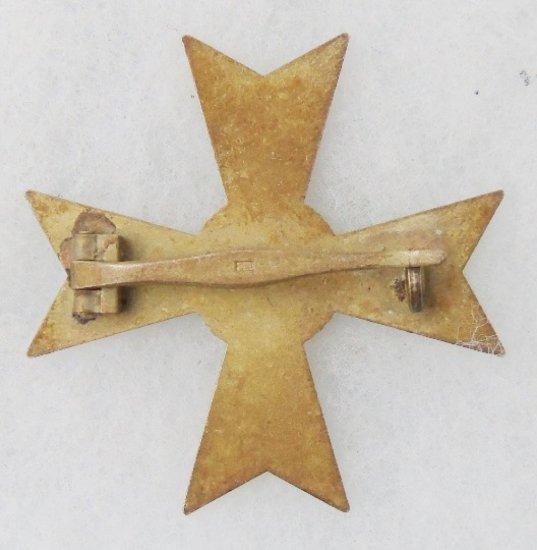 WWII German War Merit Cross 1st Class w/o Swords