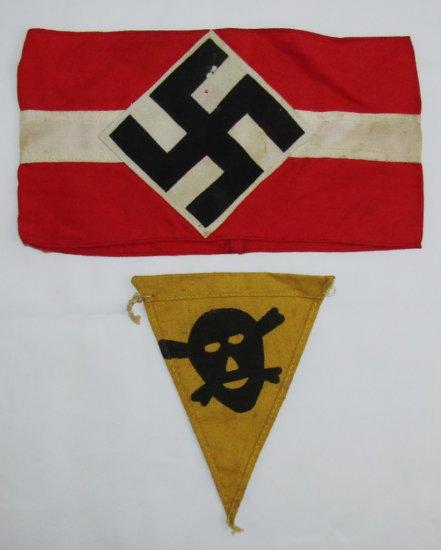 2pcs-Hitler Youth Armband-Mine Marker