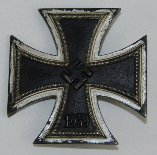 Iron Cross 1st Class With Maker Mark