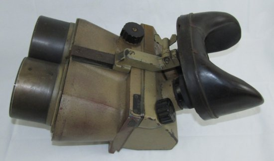 WW2 Period German Artillery/Flak 10 X 80 Range Finder Binoculars With Period Camo Finish