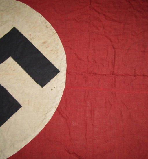 Large WW11 NSDAP Battle Flag