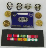 Vietnam War Period US Special Forces Insignia Grouping