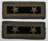 Civil War Era Union Major General Of Staff Shoulder Rank Pair.