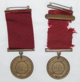2pcs-1930's USN Named Good Conduct Medals