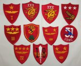 11pcs-WW2 Period USMC Air Wing/Defense Battalion/Amphibious Patch Grouping