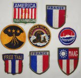 8pcs-WW2 U.S. Misc. patch Grouping-A few Are Scarce Examples
