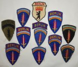 12pcs-WW2 SHAEF Patch-Late WW2/Post WW2 Berlin Brigade Patches