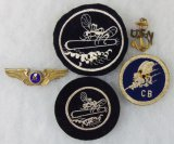 5pcs-WW2 Seabees/PT-Mosquito Boat Patches-Misc. Insignia