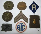 8pcs-WW1 US Army Specialty Patches
