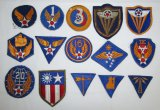 15pcs-WW2 US Army Air Forces Patches
