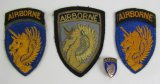 4pcs-13th Airborne Patch Variations-Collar insignia