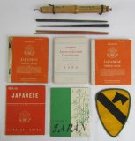 Lot WW2 Period US Restricted Japanese Language Booklets-Chop Sticks-1st Cavalry Vet Items
