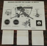 19pcs-WW2 US Infantry School Training Charts