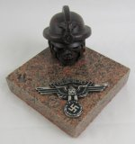 NSKK Desk Sculpture-Solid Granite Base-Modern Item For War Room Display!